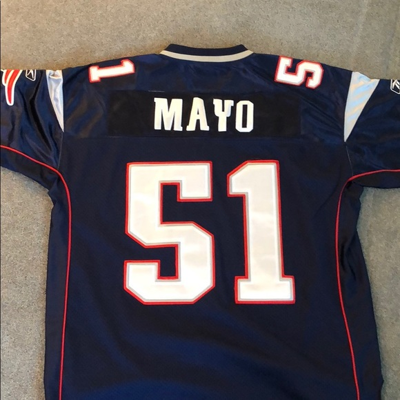 best authentic 19b80 2a341 #51 Jerod Mayo Authentic Patriots Jersey